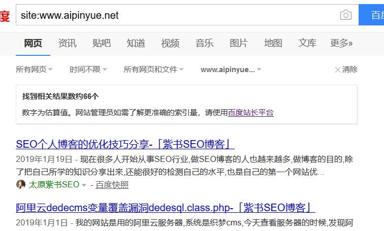 [案例分析]site域名首页不见了,如何处理